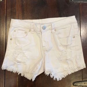 Pinc kids jean shorts